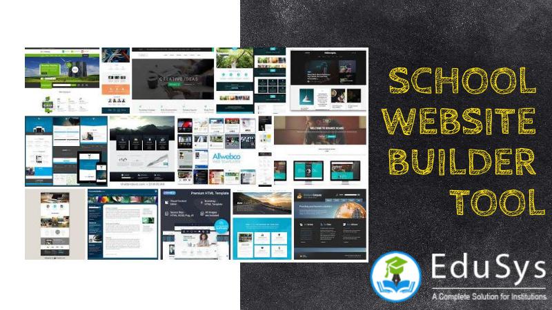 School Website Builder 2020 Create Free Website With School Template