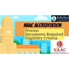 NAAC Accreditation (2021) - Apply Online, Process, Documents required, Eligibility Criteria