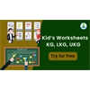 ICSE & CBSE worksheets for Kids (2020) - KG, LKG, UKG, Class 1 and more
