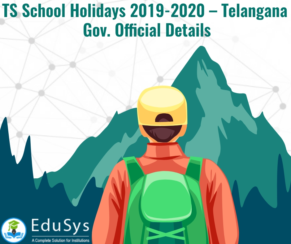 TS School Holidays 2019-2020 – Telangana Gov. Official Details
