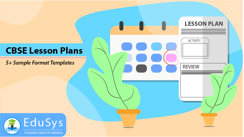 CBSE Lesson Plans (2019) - 5+ Sample Format Templates