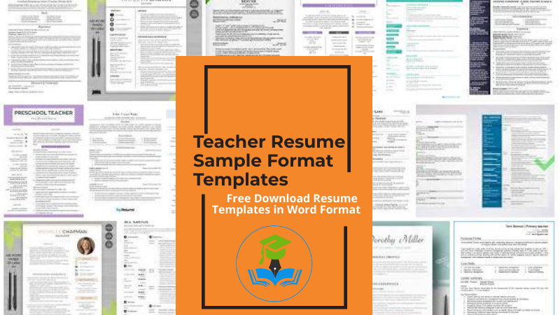 5+ Teacher resume sample format templates (2021) | Download .doc .pdf