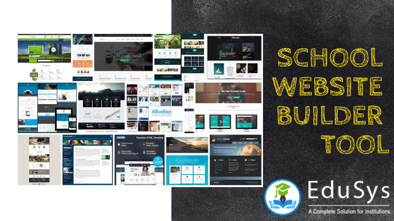 School Website Builder Tool - Build online school website free