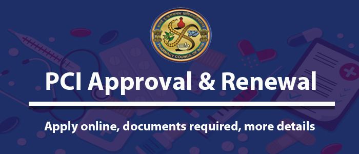 PCI Approval & Renewal (2021-22) - Apply Online, documents required, more details