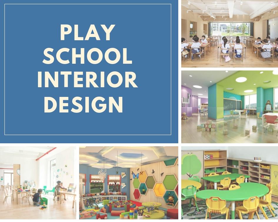 10+ Play School Interior Designs 2021 - Decoration Ideas (Classroom & Building)