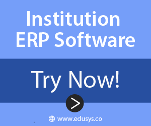 Institution ERP Software Ad