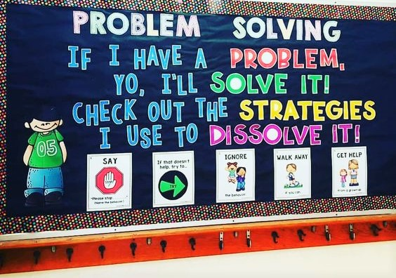 Problem Solving Board Idea