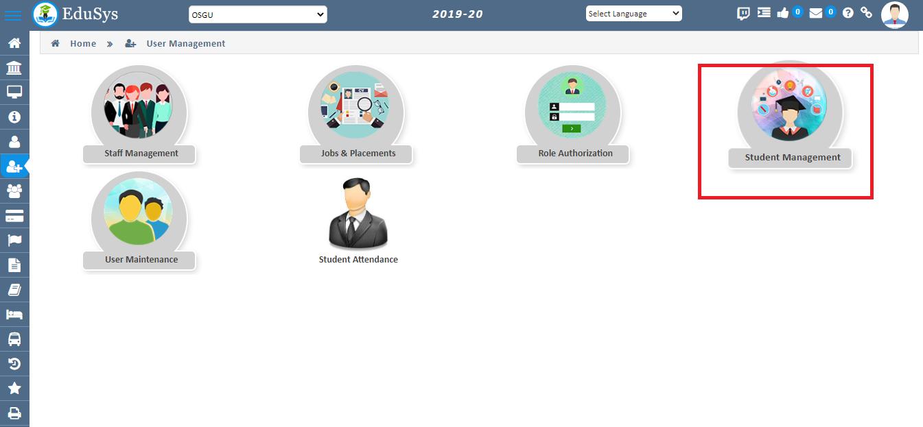 Student Management Module