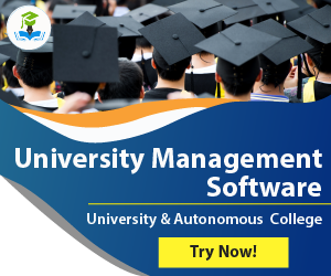 University Management Software Ad
