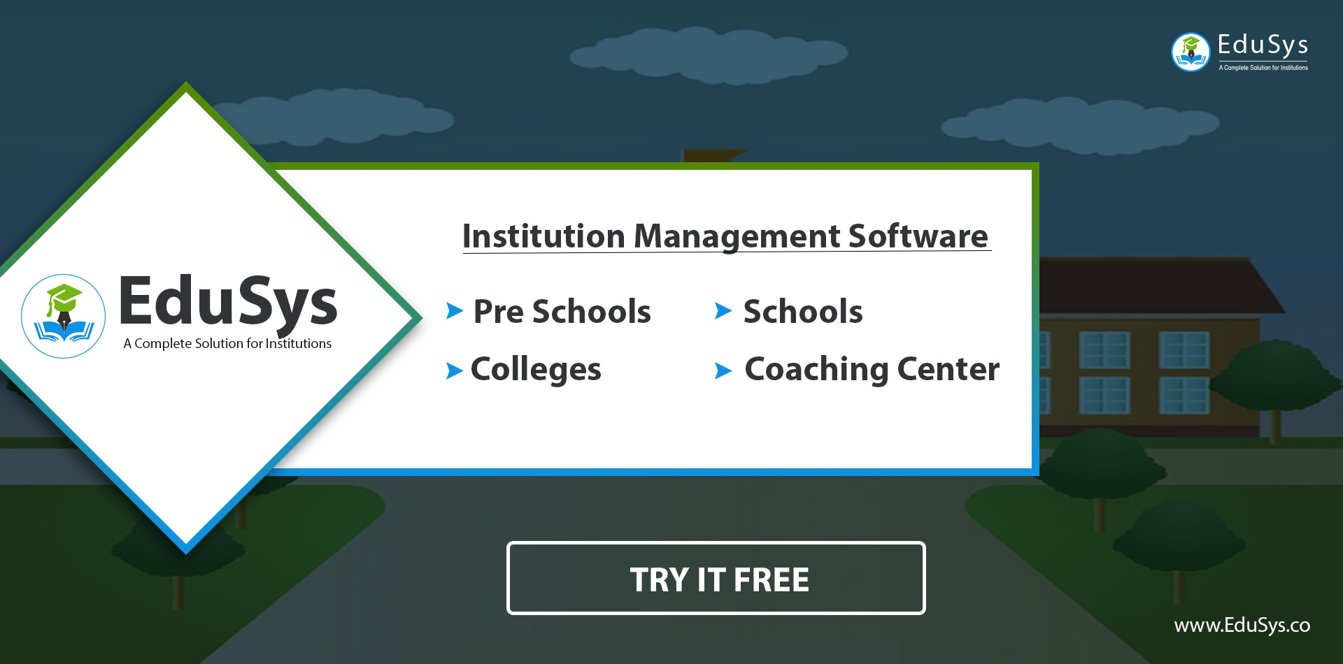 EduSys College ERP - College Management Software in India